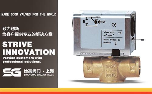 SGSFV西门子型电动二通阀