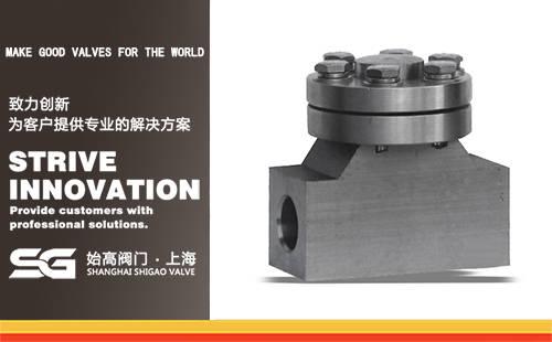 DH61Y高压低温止回阀