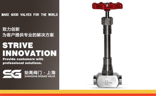 DJ11W-40P长轴低温针阀