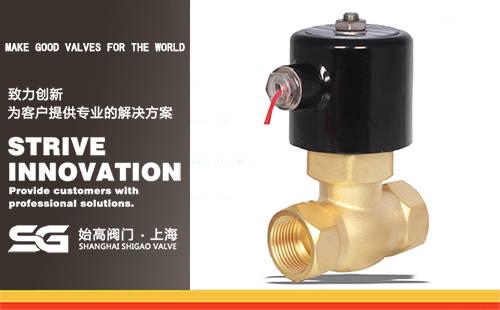 2L黄铜蒸汽电磁阀