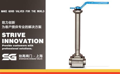 DQ11N锻钢低温球阀