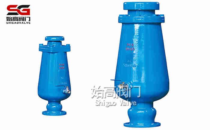 缓冲型污水复合式进排气阀产品图