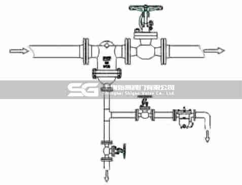 UFS汽水分离器安装图
