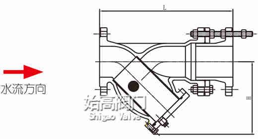 拉杆伸缩过滤器尺寸图