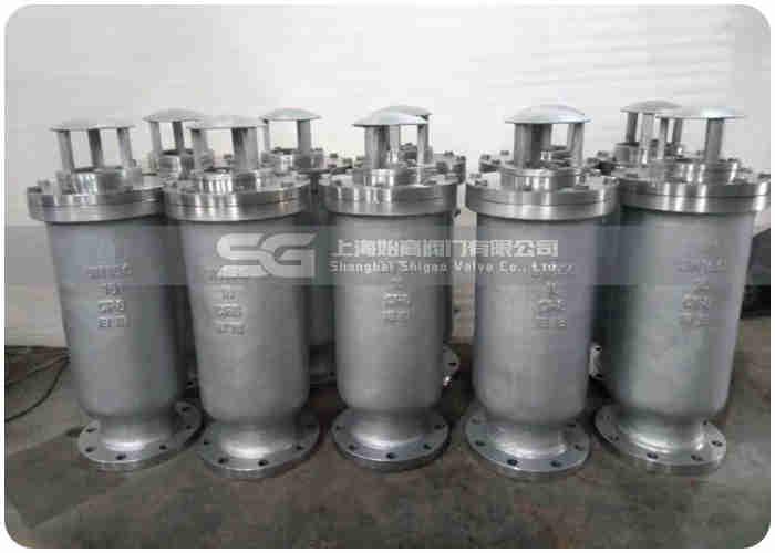SCAR复合式污水排气阀实物图2