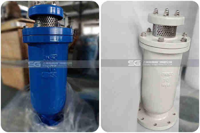 SCAR复合式污水排气阀实物图1