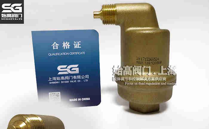 DN20黄铜不漏液排气阀实物1