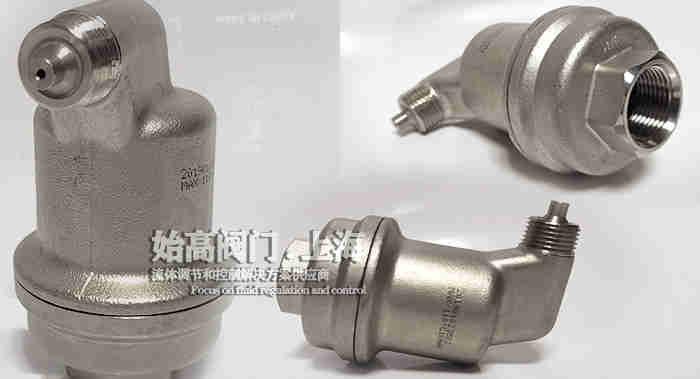 不锈钢不漏液排气阀实物2