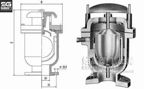 CARX复合式快速排气阀尺寸