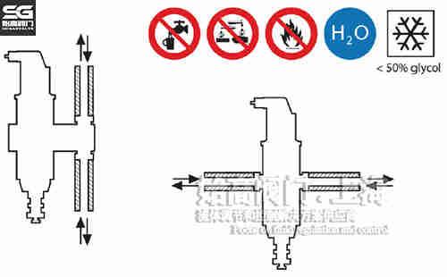 脱气除渣器安装示意图