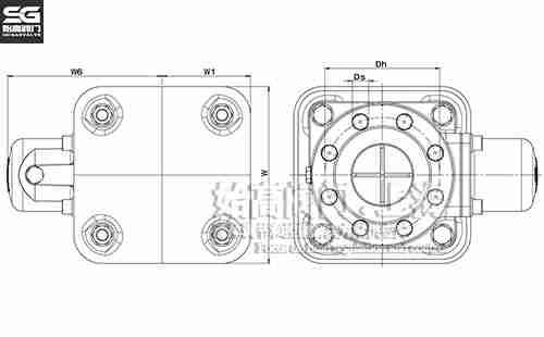 DI851双口排气阀尺寸