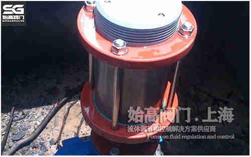 防水锤排气阀地下安装应用