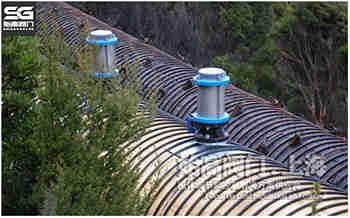 防水锤型空气阀长距离输水管安装应用