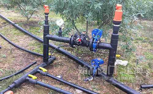 灌溉排气阀安装示意图